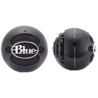 Blue Microphones Snowball USB Condenser Microphone - Gloss Black
