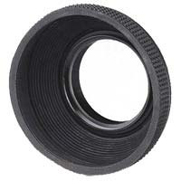 Dot Line 62mm Rubber Lens Hood