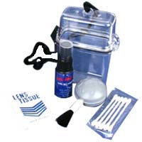 Dot Line Digital Camera Cleaning Kit with Waterproof Case