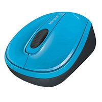 Microsoft L2 Wireless Mobile Mouse 3500 - Cyan Blue