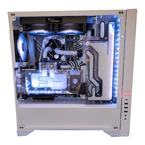 Custom Water Cooled PC Building Service - Tier 4