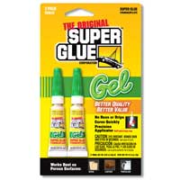 Pacer Technology Super Glue Gel - 2 Pack
