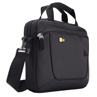 "Case Logic Laptop and iPad Slim Briefcase Fits Screens up to 11"" - Black"