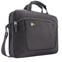 "Case Logic Laptop and iPad Slim Briefcase Fits Screens up to 14.1"" - Black"