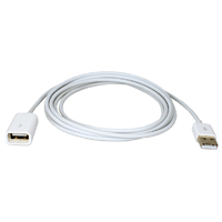 QVS 3' USB Dock Sync & Charger Extension Cable for Tablets/Smartphone/GPS