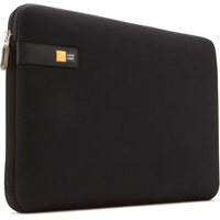 "Case Logic Laptop Sleeve Fits Screens up to 13.3"" - Black"