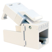 Platinum Tools EZ-SnapJack Cat5e 4-Pack White