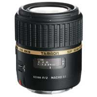Tamron SP 60mm F/2.0 Di II 1:1 Macro Lens with Hood for Canon Mount