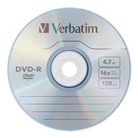 Verbatim DVD-R 16x 4.7GB/120 Minute Disc 100-Pack Shrink Wrap