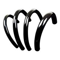 "PrimoChill PrimoFlex  1/2"" (13 mm) x 3/4"" (19 mm) Advanced LRT Tubing 10 ft. - Onyx Black"