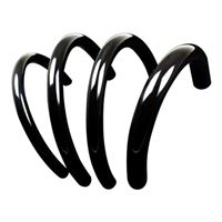 "PrimoChill PrimoFlex 3/8"" (10 mm) x 5/8"" (16 mm) Advanced LRT Tubing 10 ft. - Onyx Black"