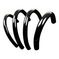 "PrimoChill PrimoFlex 7/16"" (11 mm) x 5/8"" (16 mm) Advanced LRT Tubing 10 ft. - Onyx Black"