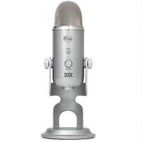 Blue Microphones Yeti USB Condenser Microphone - Silver