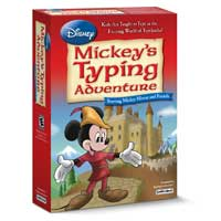 Individual Software Disney: Mickey's Typing Adventure (PC)