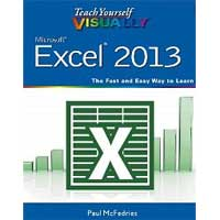 Wiley Teach Yourself Visually Excel 2013