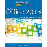 Wiley Teach Yourself VISUALLY Office 2013, 1st Edition