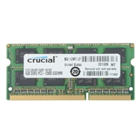 Crucial 4GB DDR3-1600 (PC3-12800) CL11 SO-DIMM Laptop Memory Module