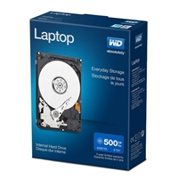 "WD Blue Mainstream 500GB 5400RPM SATA II 3Gb/s 2.5""..."