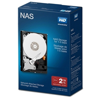 "WD Red 2TB 5400RPM SATA III 6Gb/s 3.5"" Internal NAS Hard..."