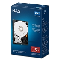 "WD Red 3TB 5400RPM SATA III 6Gb/s 3.5"" Internal NAS Hard Drive"