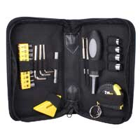 QVS Technician's Tool Kit with Level and Tape Measure - 23pc