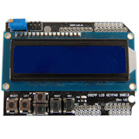 16 x 2 LCD Display and Keypad Shield