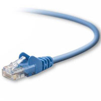 Belkin CAT 5e Snagless 24AWG Network Cable 10 ft. - Blue