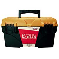"Shaxon SHX-TB15 15"" Tool Box with Pullout Tray"