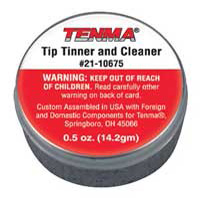 Tenma Tip Tinner/Cleaner - 0.5oz. Can