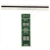Schmartboard Inc. EZ 0.65mm Pitch SOIC to DIP Adapter