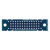 "Schmartboard Inc. T.H. Power And Gnd Strip 0.5"" X 2"" Grid"