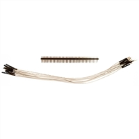 "Schmartboard Inc. Qty. 10 9"" Male to Female Jumper Wires and 40 Headers"