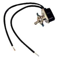 "MCM Electronics SPST Prewired Toggle Switch - 7/16"" Mount"