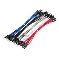"Leo Sales Ltd. 6"" M/F Premium Jumper Wires 50pcs"