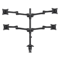 "AVF MRC1404-A Quad Desk Mount for Monitors 13""- 27"""