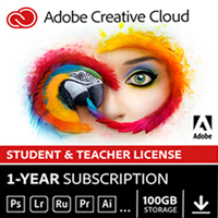 Adobe Creative Cloud Membership 12 Month Subscription