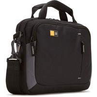 "Case Logic Laptop Briefcase Fits Screens up to 10.2"" - Black"