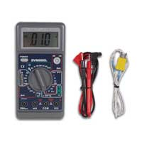 Velleman 3 1/2 Digital Multimeter - 29 Ranges / 20A / Temperature / Capacitance - Low-Cost