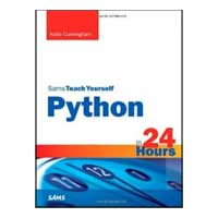 Pearson/Macmillan Books Python in 24 Hours, Sams Teach Yourself, 2nd Edition