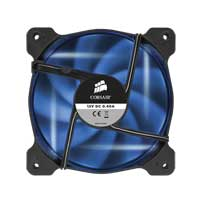 Corsair Air AF120 Quiet Edition Blue LED Sleeve Bearing 120mm Case Fan