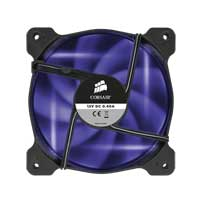 Corsair Air AF120 Quiet Edition Purple LED Sleeve Bearing 120mm Case Fan