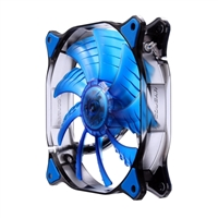 H.E.C. Cougar CFD14HBB Ultra Silent Blue LED Hydraulic Bearing 140mm Case Fan
