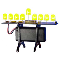 Evil Mad Science Deluxe LED Menorah Kit - Yellow