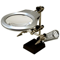 Enkay Products Helping Hands with LED Light & Soldering Stand