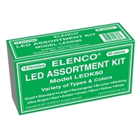 Elenco 80 pc LED Component Kit
