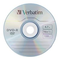Verbatim Life Series DVD-R 16x 4.7 GB/120 Minute Disc 25-Pack Spindle