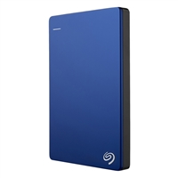 "Seagate Backup Plus Slim 1TB USB 3.0 2.5"" Portable External Hard Drive - Blue"