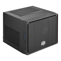 Cooler Master Elite 110 mini-ITX Mini-Tower Computer Case - Black