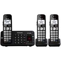 Panasonic DECT 6.0 Plus Expandable Digital Cordless Answering System - 3 Handsets