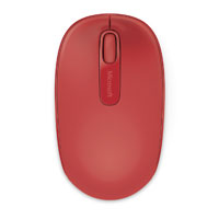 Microsoft Wireless Moblie Mouse 1850 - Flame Red